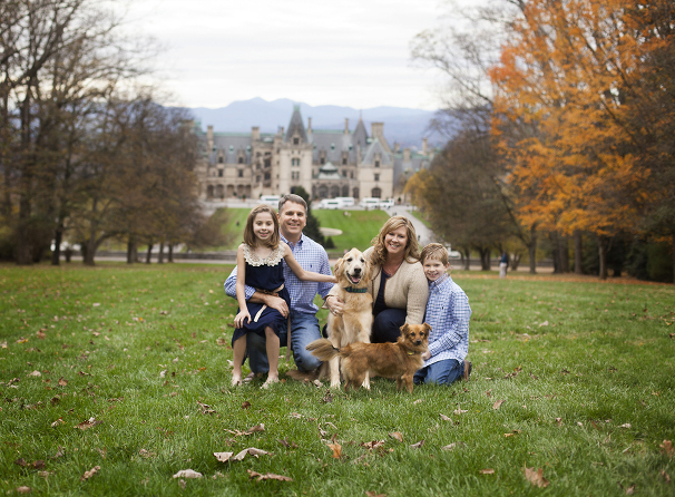 family photography Biltmore Estate